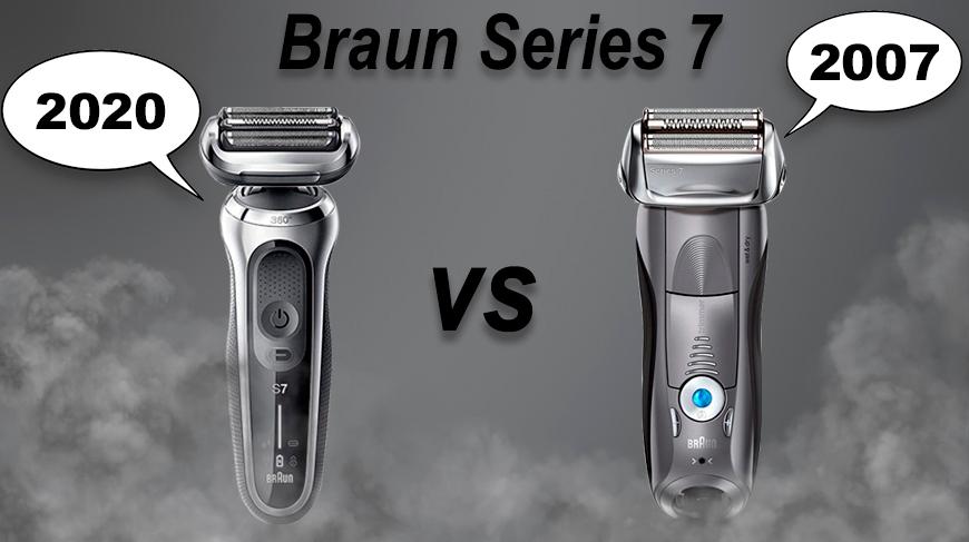 Электробритвы Braun Series 7: сравнение моделей