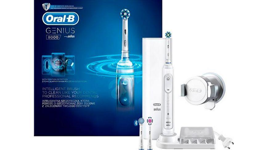 Зубная щетка Oral-B Genius Pro 8000