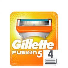 Gillette Fusion лезвия (сменные кассеты) 4 шт.