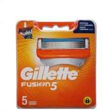 Gillette Fusion лезвия (сменные кассеты) 5 шт.