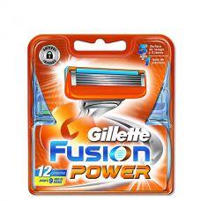Gillette Fusion Power лезвия (сменные кассеты) 12 шт.