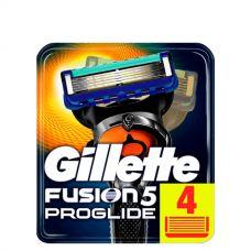 Gillette Fusion Proglide лезвия (сменные кассеты) 4 шт.