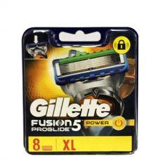Gillette Fusion Proglide Power лезвия (сменные кассеты) 8 шт.