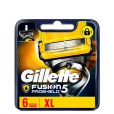 Gillette Fusion Proshield лезвия (сменные кассеты) 6 шт