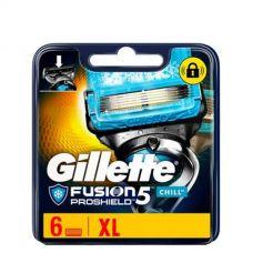 Gillette Fusion Proshield Chill лезвия (сменные кассеты) 6 шт