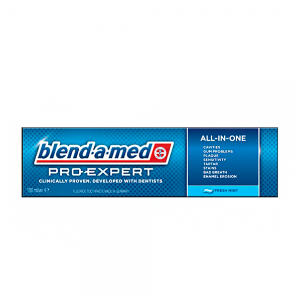 "Blend-a-med зубная паста PRO-EXPERT ""Всё в одном"" свежая мята 75 г"