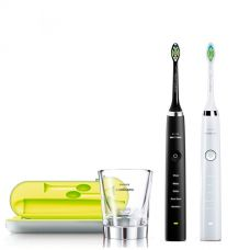 Family Philips Sonicare Diamond Clean HX9332/01 Black White
