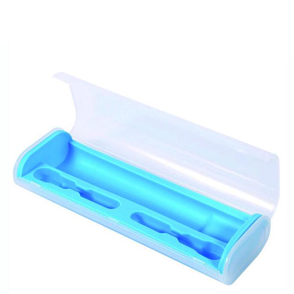Дорожный футляр для зубной щетки синий